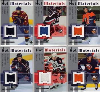 2005-06 Hot Prospects Hot Materials #HMCT Chris Thorburn