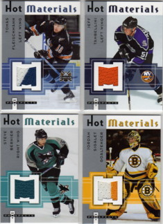 2005-06 Hot Prospects Hot Materials #HMSB Steve Bernier