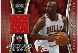 2005-06 Upper Deck Michael Jordan Jerseys #MJ1 Michael Jordan