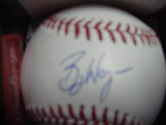 Billy Wagner Autographed Official Mlb Baseball with Steiner Coa