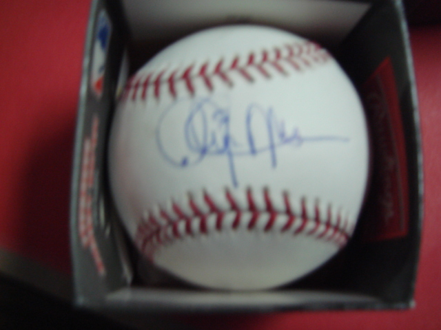 Cleon Jones Autographed Official Mlb Baseball with Steiner Coa