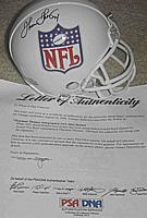 THURMAN THOMAS autographed ( autograph, signed ) NFL mini helmet PSA/DNA