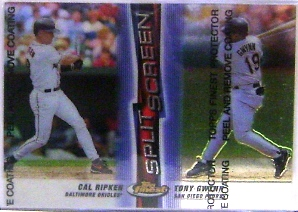 1999 Finest Split Screen #SS5 C.Ripken REF/T.Gwynn