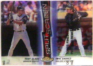 1999 Finest Split Screen #SS12 T.Glaus/E.Chavez