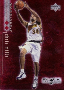 1998-99 Black Diamond Double Diamond #37 Chris Mills