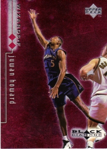 1998-99 Black Diamond Double Diamond #89 Juwan Howard