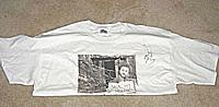 DUSTIN DIAMOND  (Screech of Saved By the Bell TV show) autographed T-shirt
