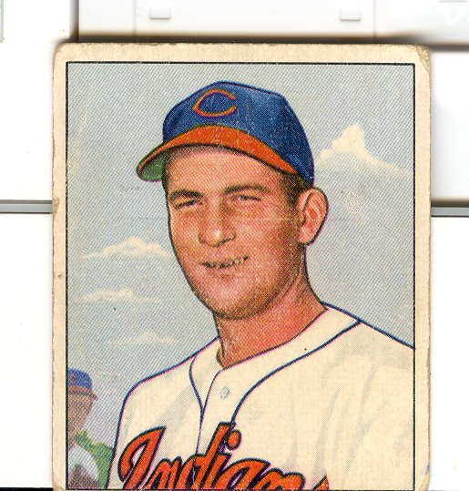 1950 Bowman #40 Bob Lemon