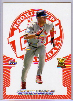 2005 Topps Rookie Cup Orange #123 Albert Pujols