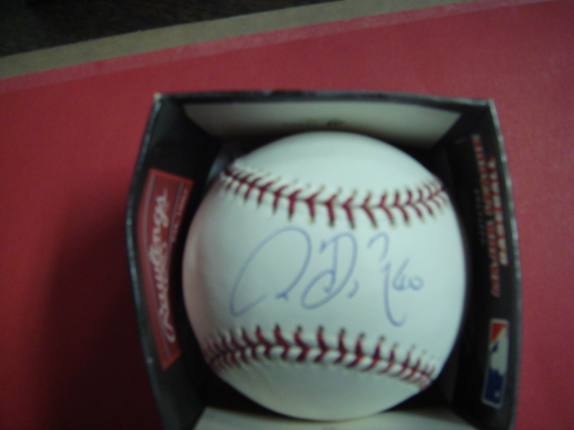 Chien-Ming-Wang Autographed Official Mlb baseball With Steiner COA