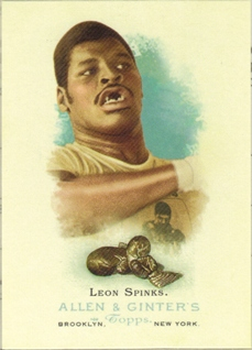 2006 Topps Allen and Ginter #313 Leon Spinks