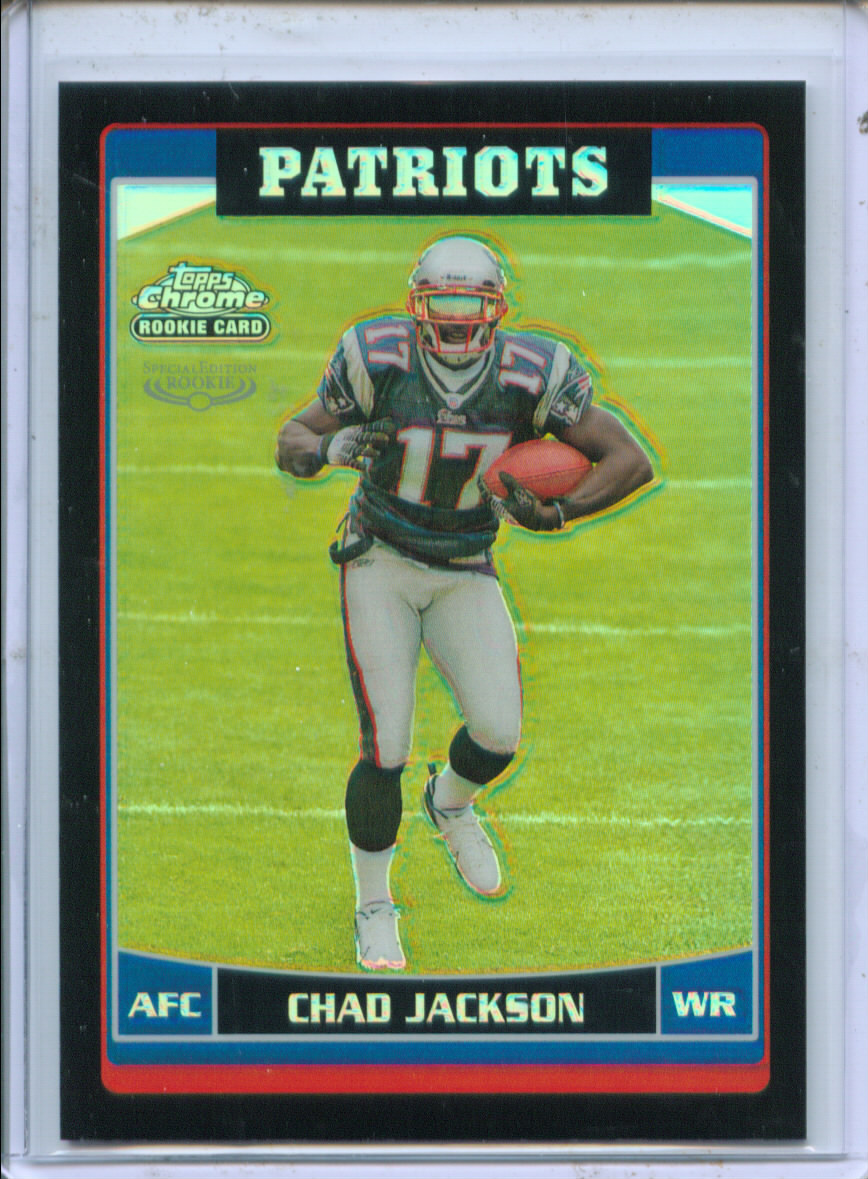 2006 Topps Chrome Black Refractors #233 Chad Jackson