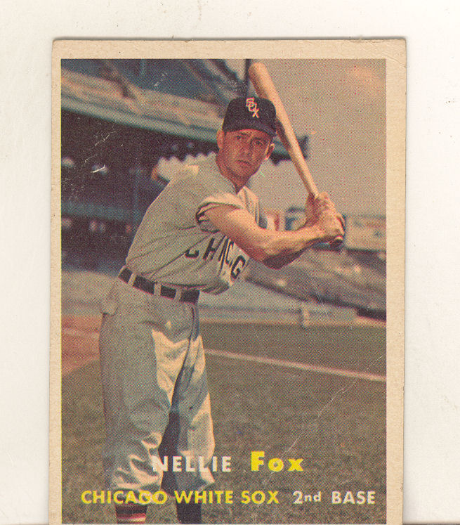1957 Topps #38 Nellie Fox