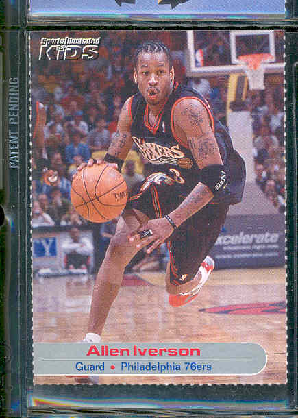 2001 Sports Illustrated for Kids #28 Allen Iverson Sixers RARE