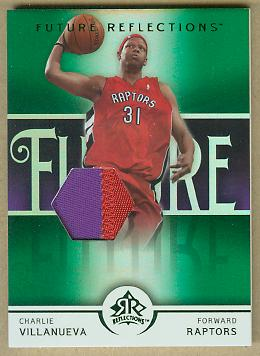 2005-06 Reflections Green #138 Charlie Villanueva JSY