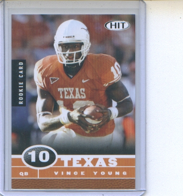 Vince Young 2006 Sage Hit National Promo #2/5 front image