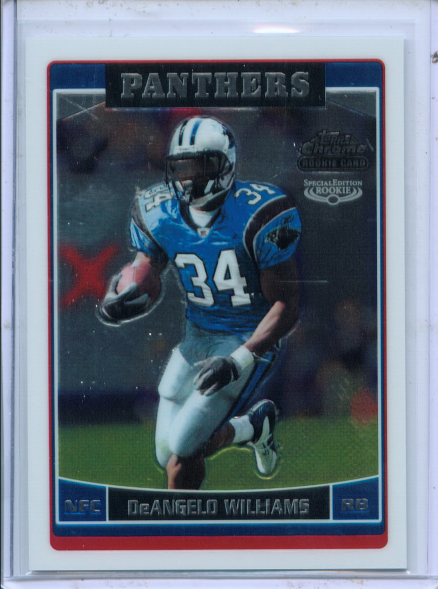 2006 Topps Chrome Special Edition Rookies #228 DeAngelo Williams