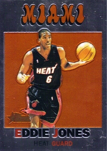 2000-01 Topps Heritage Retrofractors #24 Eddie Jones
