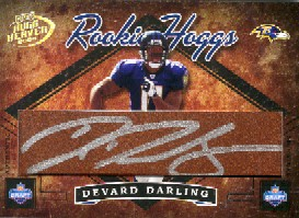 2004 Playoff Hogg Heaven Rookie Hoggs Autographs #RH42 Devard Darling