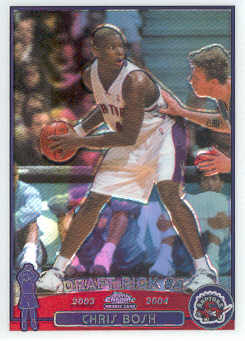 2003-04 Topps Chrome Refractors #114 Chris Bosh
