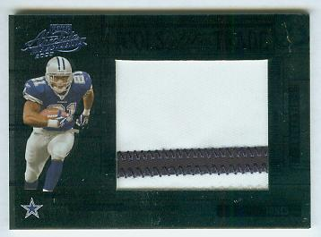 2005 Absolute Memorabilia Tools of the Trade Material Blue Spectrum #48 Julius Jones