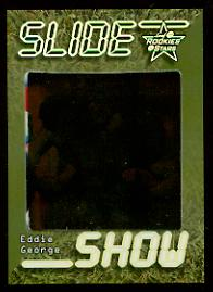 1999 Leaf Rookies and Stars SlideShow Green #SS34 Eddie George