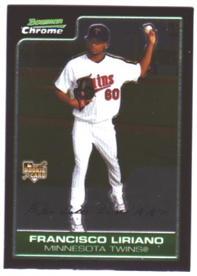 2006 Bowman Chrome #218 Francisco Liriano (RC)