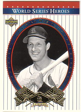 2002 Upper Deck World Series Heroes #25 Stan Musial