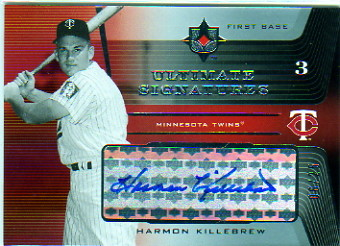 2004 Ultimate Collection Signatures #HK H.Killebrew w/Bat/25