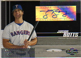 2006 Topps Co-Signers #105 Jason Botts AU G (RC)