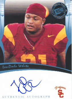 2006 Press Pass Legends Autographs #77 LenDale White