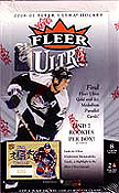 2006-07 (2007) Fleer Ultra NHL Hockey Sports Trading Cards Box by Upper Deck  (7 Rookie Cards, 2 Jersey Cards + 1 Gold Medallion Parallel Card per box, on average!)