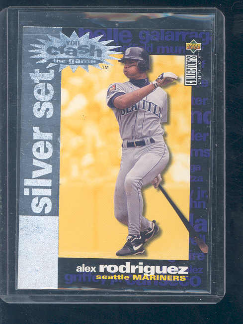 1995 Collector's Choice Crash the Game Exchange #17 Alex Rodriguez