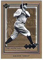 2006 Upper Deck National Sports Card Convention #MLB-2 Babe Ruth VIP promo