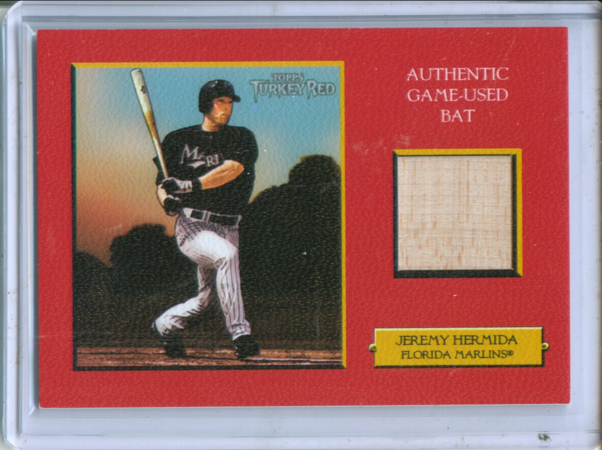 2006 Topps Turkey Red Relics Red #JH Jeremy Hermida Bat