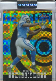 2004 Finest Uncirculated Gold Xfractors #76 Roy Williams WR
