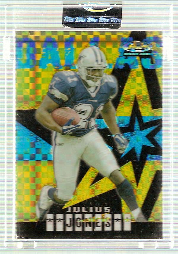 2004 Finest Gold Refractors #63 Julius Jones