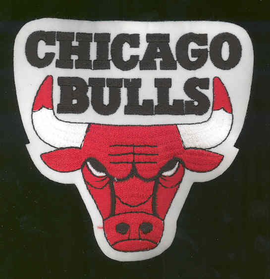 Chicago Bulls Rare Embroidered Patch 5