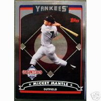2006 Topps National Baseball Card Day Inserts #T2 Mickey Mantle FOIL