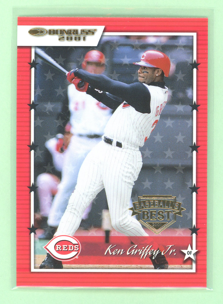 2001 Donruss Baseball's Best Gold #13 Ken Griffey Jr. front image