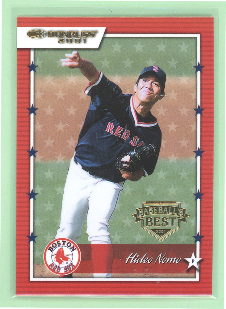 2001 Donruss Baseball's Best Gold #47 Hideo Nomo
