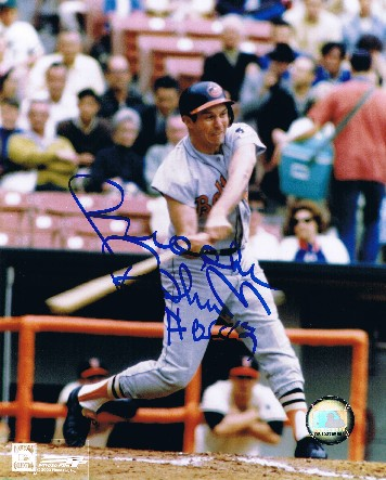 Brooks Robinson Autographed 8x10 Photo #1