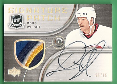 2005-06 The Cup Signature Patches #SPDW Doug Weight