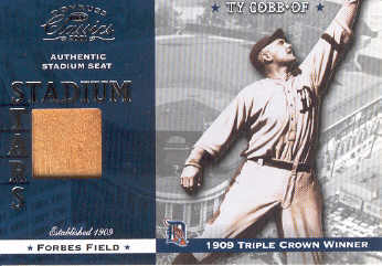 2001 Donruss Classics Stadium Stars #SS5 Ty Cobb