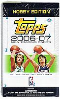 2006-07 Topps HOBBY basketball factory-sealed box - WADE, SHAQ, BIRD autographs