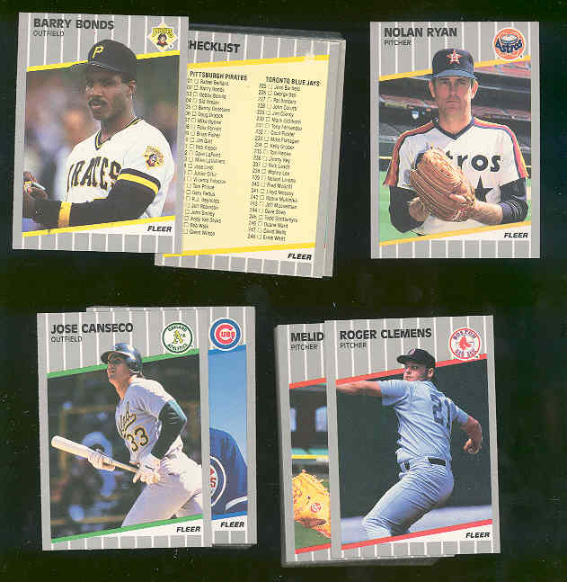 2000 + 1989 Fleer Baseball Commons / Stars / Rookie Mixed LOT No Ken Griffey Jr Rookie Everything else included.