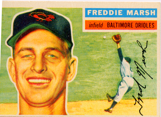 1956 Topps #23 Fred Marsh