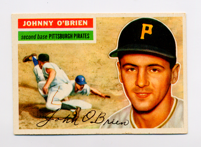 1956 Topps #65 Johnny O'Brien