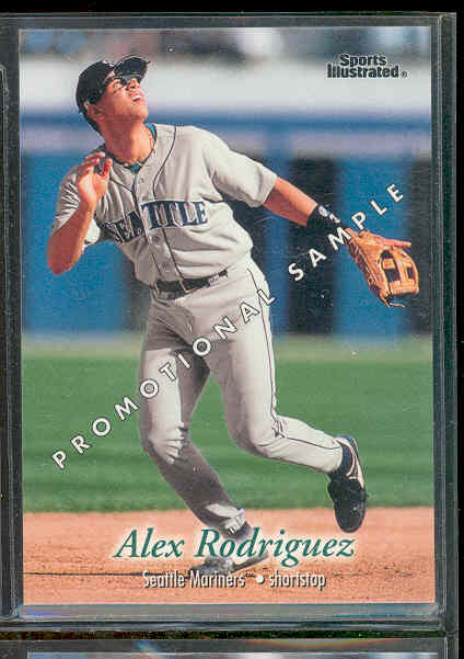 1997 Fleer Sports Ilustrated Promo Promotional Sample Alex Rodriguez