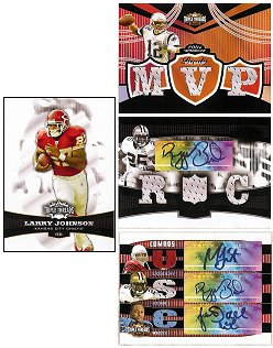 2006 Topps Triple Threads Football Factory Sealed Hobby Box (2 Triple Memorabilia Cards Per Box with 1 Guaranteed to be Autographed)